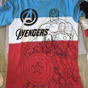 Avengers short sleeve tee